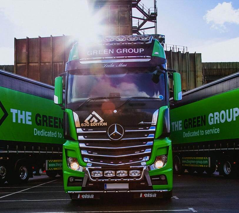 The Green Group Wagon