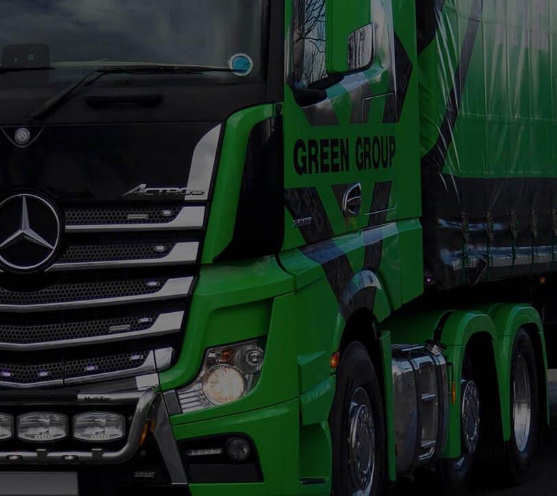 The Green Group Branding