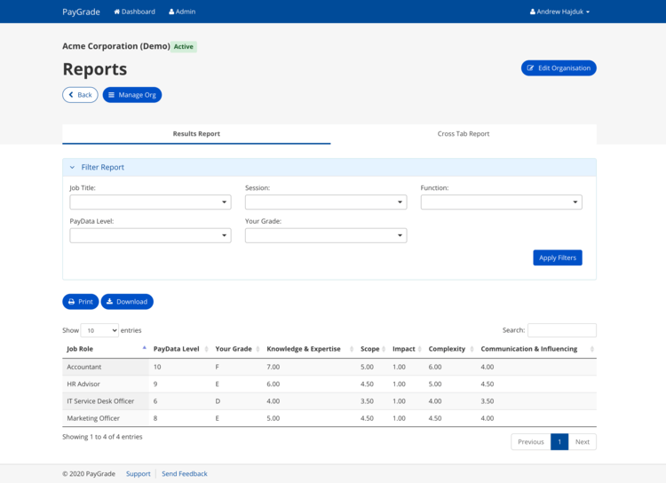 Amite PayGrade New Features