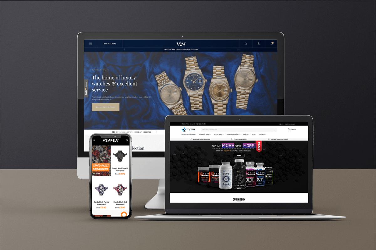 Reach Studios eCommerce Shopify Clients