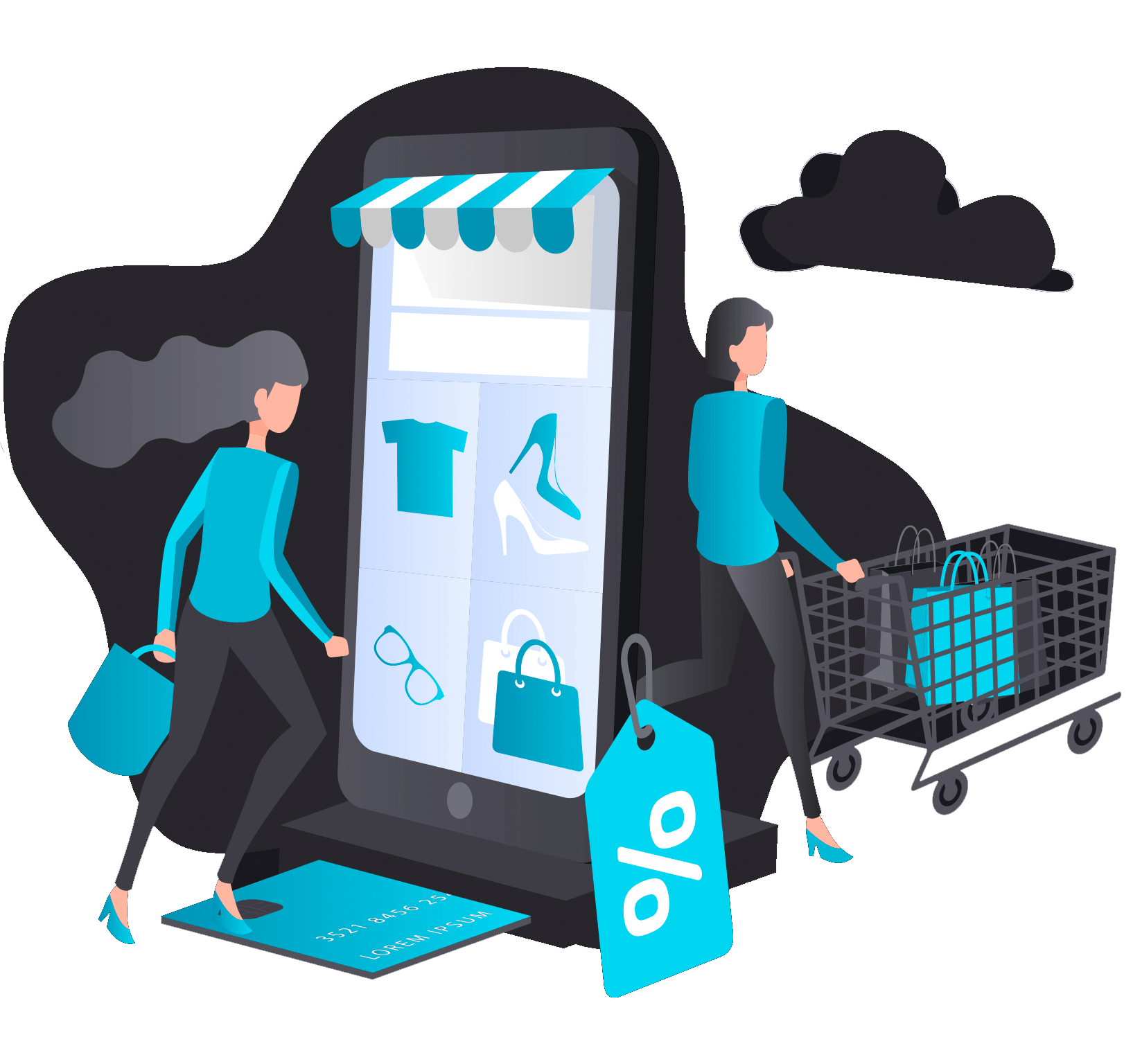 eCommerce mobile first design