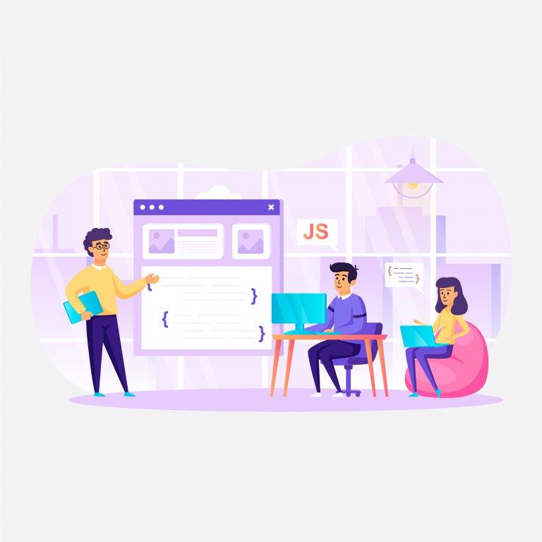 Bespoke software Illustration